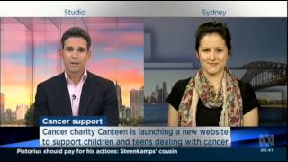 CanTeen's online support platform launch - ABC News Breakfast
