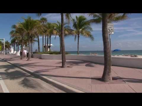 Fort Lauderdale, Florida - Beach Boulevard (A1A)