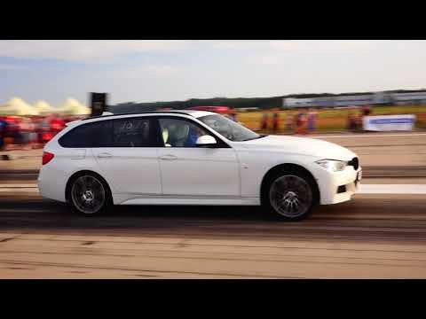 BMW F31 335D 410HP 12.2 vs AUDI A7 3.0D 400HP
