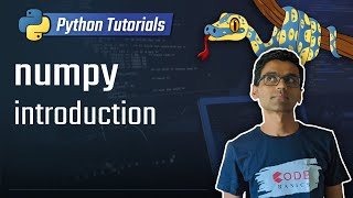 numpy tutorial - introduction