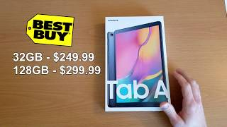 Samsung Galaxy Tab A 10.1 Unboxing and Review 2020