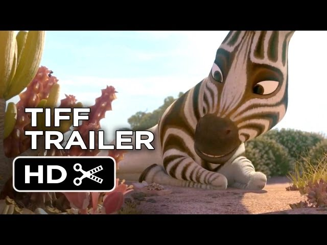 TIFF (2013) - Khumba Trailer #1 - Liam Neeson, Steve Buscemi Animated Movie HD Travel Video