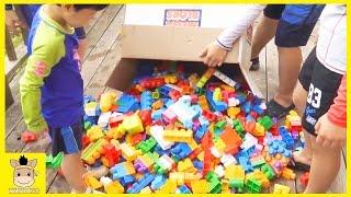 Mega Bloks 1000 blocks ship for mini baby! Mega bloks ship & Home for kids | MariAndKids Toys