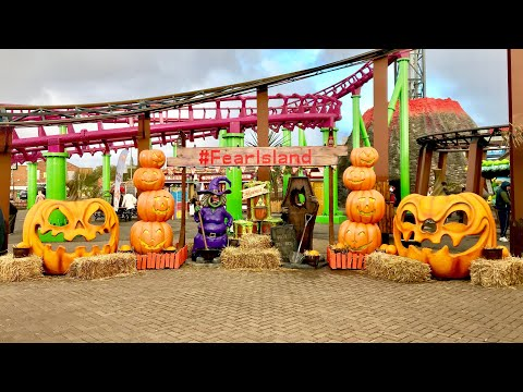 Fear Island At Fantasy Island Vlog 28th October 2018