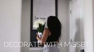 Decorate With Me | Kirkland's Wall Decor | Missbt