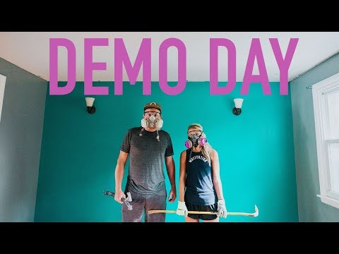 DEMO DAY -  DIY House Flip