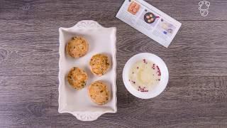 Куриные котлетки с розовым перцем и тушеным баклажаном - доставка продуктов с рецептами Шефмаркет