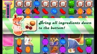 Candy Crush Saga Level 813 walkthrough (no boosters)