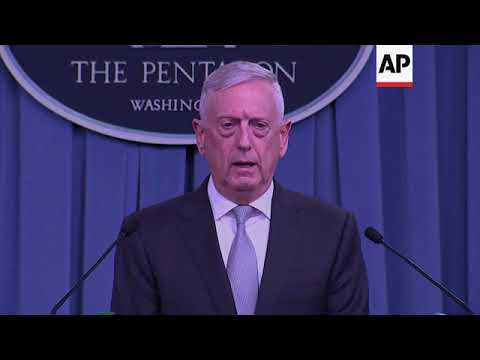"Mattis: Syria airstrikes ""sent a very strong message"""