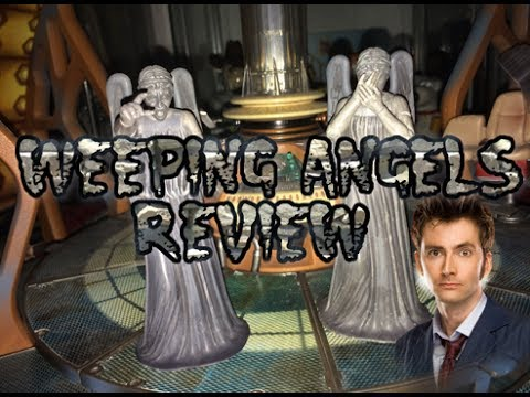 Doctot Who Action Figure Review: Weeping Angels