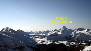 Banff, Alberta, Skiing At Sunshine Village, Canadian Rockies