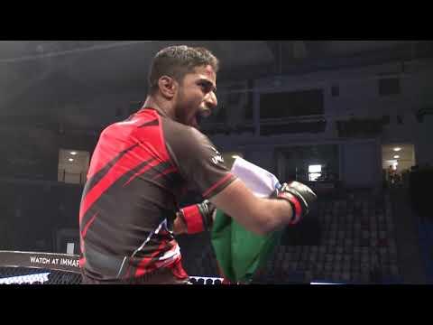 Ebrahim Darwish (Bahrain) vs. Mahboob Khan Mohammed (India) | 2018 IMMAF - WMMAA World Championships