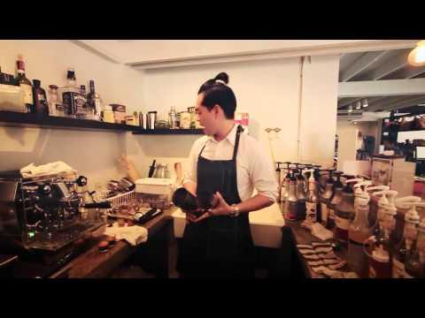 ชิมรสชาติกาแฟเชค ในสไตล์ของ บอม The Shaker Cafe  Who I AM EP 100
