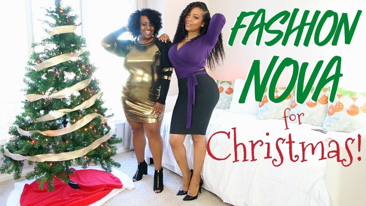Got My Girl Fashion Nova For Christmas Fn Curve Fn Try On Haul Youtube