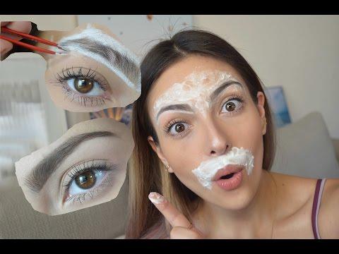 Como depilar la ceja y el bigote en casa |...