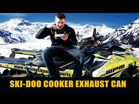 How To Install A Ski-Doo Cooker Exhaust Can | #WPM