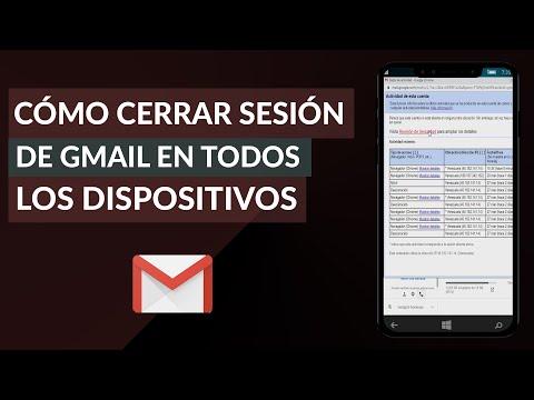 Cómo Cerrar Sesión de Gmail en Todos los Dispositivos Desde mi Celular o PC