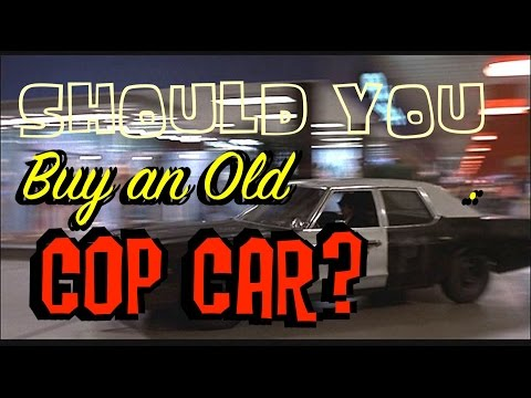 Buy an Old Cop Car: Crown Vic Interceptor, Charger, Impala or Tahoe?