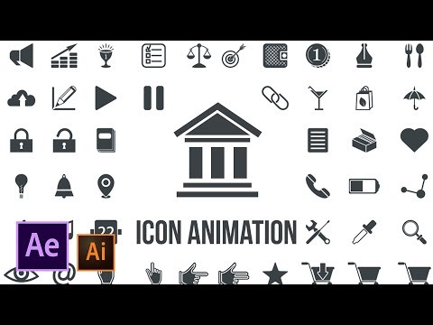Icon Design And Animation | Illustrator To After Effects Tutorial