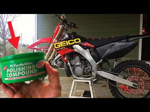 How To Make Your DirtBike Shine LIKE NEW AGAIN!!(1 Simple Trick)