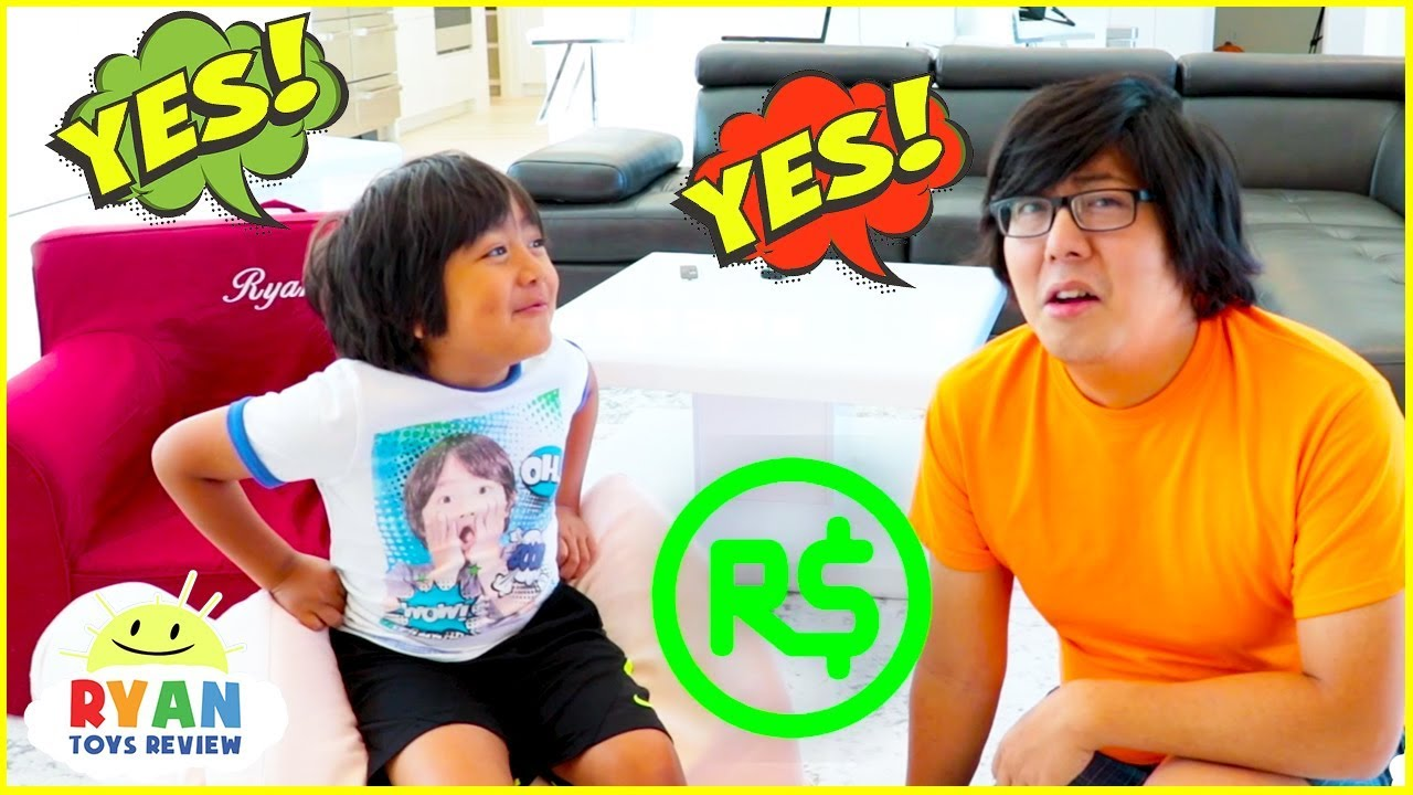 Ryan Challenge Dad Said Yes To Everything Kids Want For 24