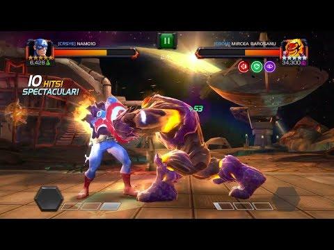 Alliance War - og 5 Star Cap in action - Magik Mini & Dormamu Boss