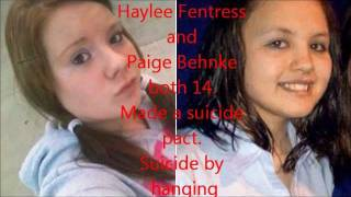 Kids cry for help. Children as young as 8 commiting suicide. R.I.P.