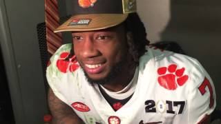1/9/17 Mike Williams Post Game National Championship - Alabama