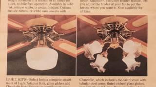 Hunter Original Ceiling Fan Catalog [1980]