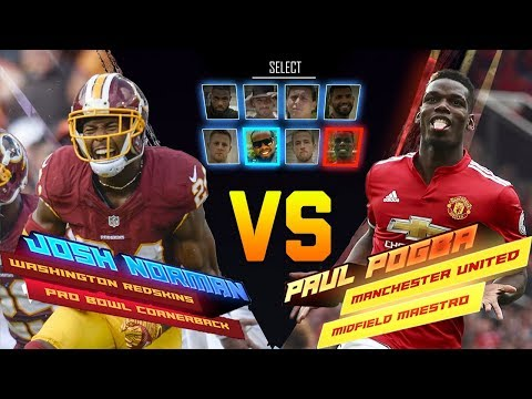 Josh Norman Skills Showdown vs. Paul Pogba | Game Recognize Game | NFL vs Premier League