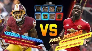 Josh norman skills showdown vs. paul pogba | redskins vs. manchester united | nfl vs. premier league