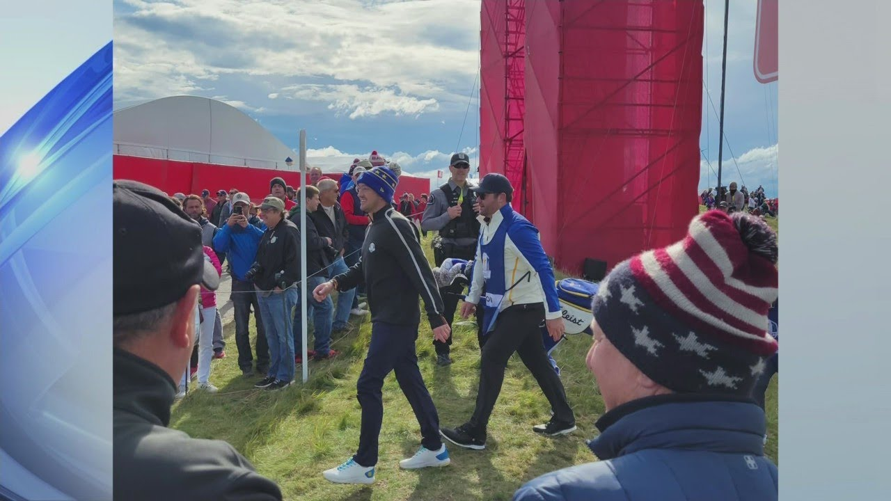 Actor Tom Felton collapses during 2021 Ryder Cup held in WI