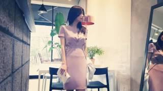 [세여자몰]여성정장원피스코디 결혼식하객패션 럭셔리오피스…