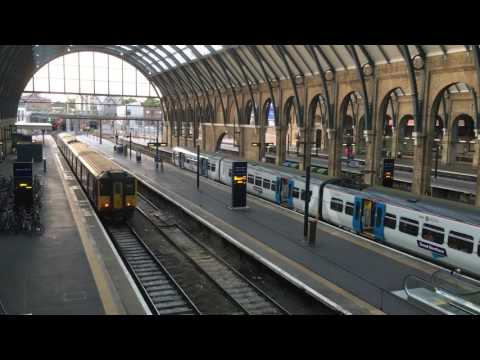 King's Cross Railway Station, London, England - June & July, 2016