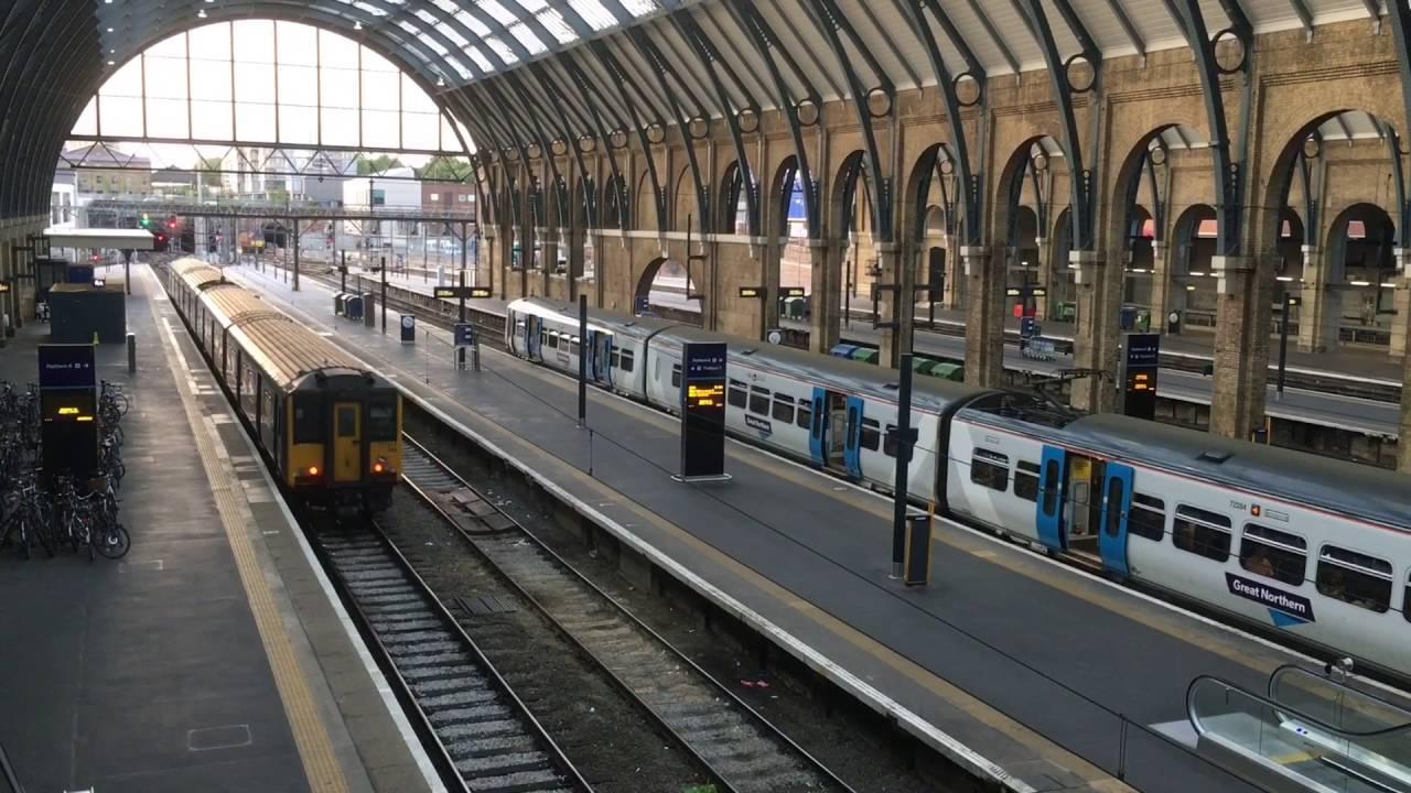 Train Lever In Lodon : King s cross railway station london england june