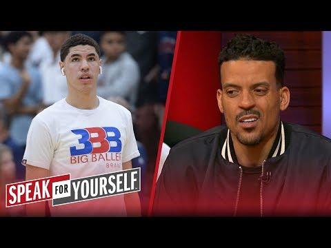 Matt Barnes: LaVar is 'on the way' to spoil LaMelo's basketball career | NBA | SPEAK FOR YOURSELF