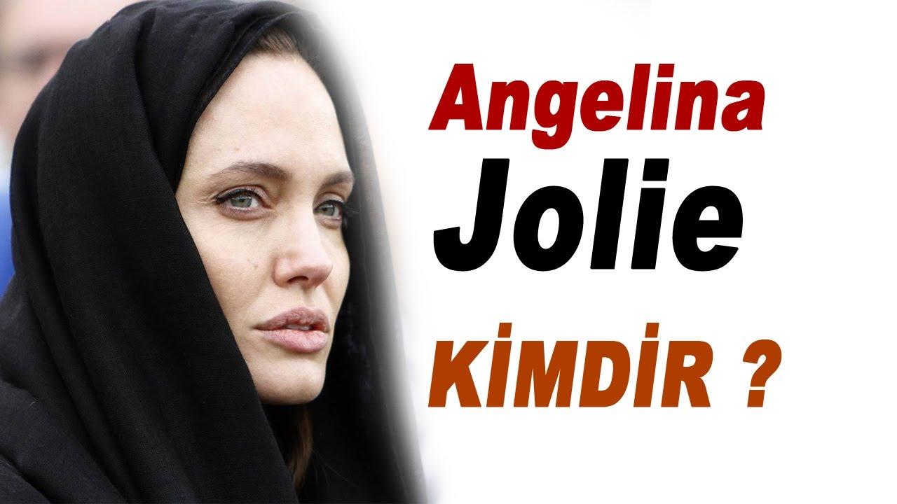 Ünlü Angelina tanınmaz bir halde