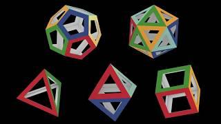 Правильные многогранники, Платоновы тела, Regular polyhedra, Platonic solids