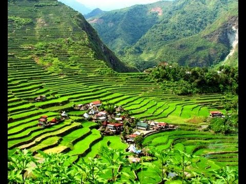 Amazing banaue rice terraces philippines youtube for Terrace images