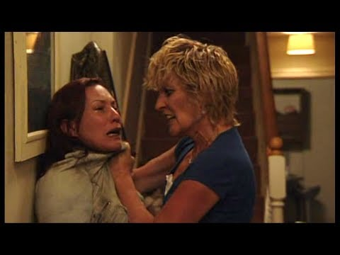 EastEnders - Shirley Carter Attacks & Throws Out Rainie Cross (17th August 2010)