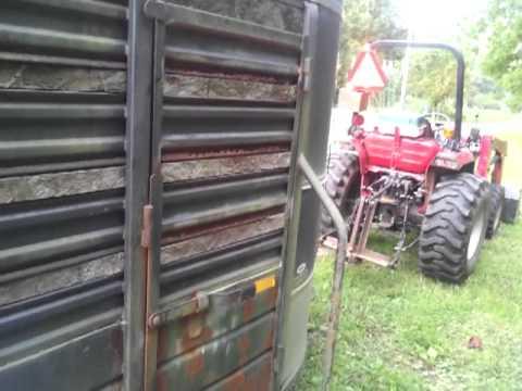 12' livestock trailer