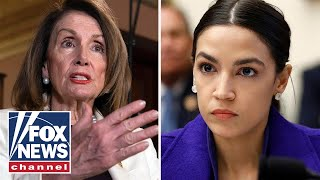 Pelosi: Glass of water with 'D' on it could've won AOC's district