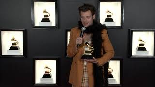 Harry Style's TV/Radio Room Interview | 2021 GRAMMY Awards Show