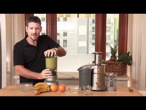 How to Make a Healthy Mean Green Smoothie with Joe Cross  WilliamsSonoma