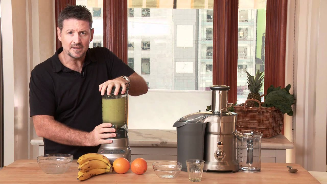 How to Make a Healthy Mean Green Smoothie with Joe Cross