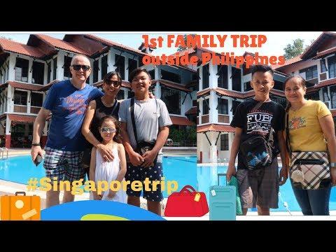 FAMILY TRIP To SG  (part 1)//VLOG # 10// Laarni B N'style