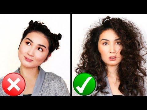 Как сделать кудри с мокрыми волосами