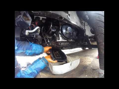 Как поменять масляный фильтр АКПП Volkswagen Golf