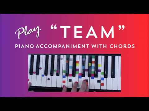 How To Play Team Krewella Easy Piano Chord Lesson Ivoreez