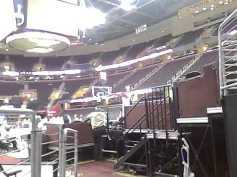 Can we find LeBron inside Quicken Loan Arena